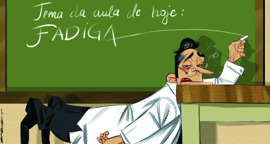 p7 cartoon burnout Henrique Monteiro