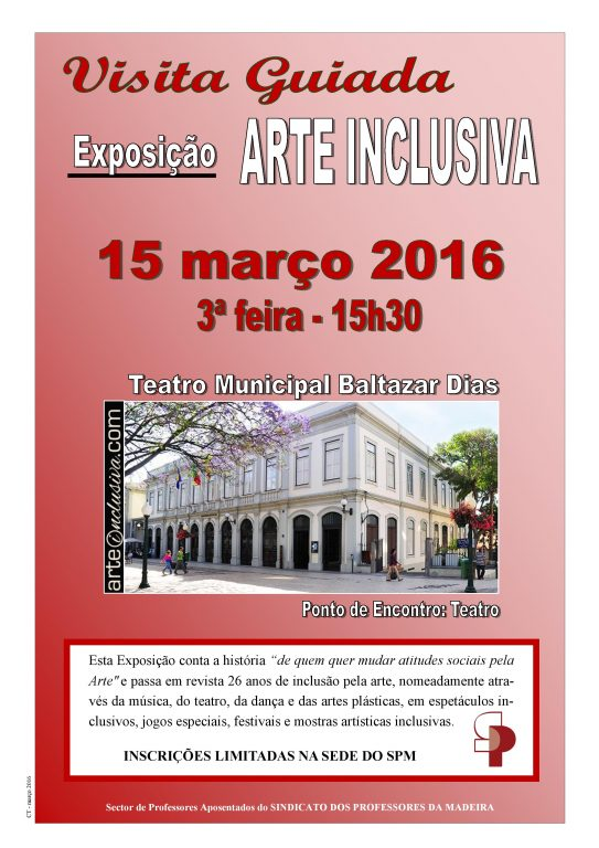 Cartaz arte inclusiva 15.3.2016