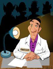CARTOON SPM cartoon PROF #87 abril 2011 henrique monteiro avaliacao
