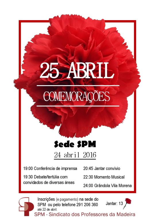Cartaz - 25 Abril