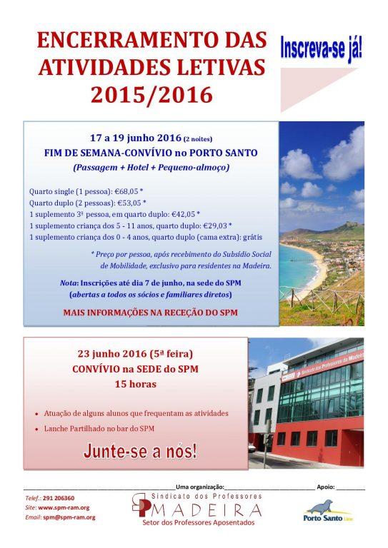 Cartaz Porto Santo junho.2016