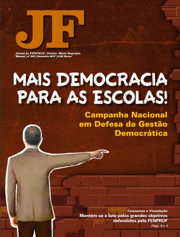 Jornal da FENPROF – Fevereiro 2017