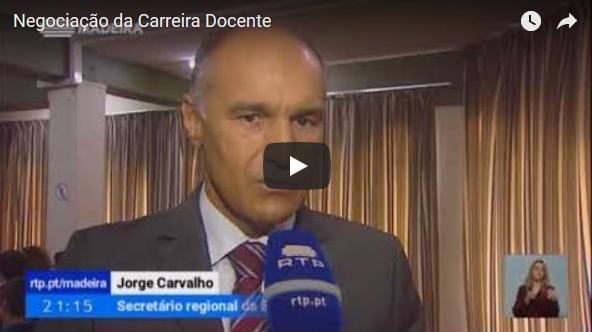Negociação da Carreira Docente – Reportagem RTP Madeira