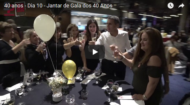 40 anos – Dia 10 – Jantar de Gala dos 40 Anos