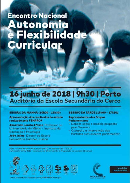 Encontro Nacional – Autonomia e Flexibilidade Curricular