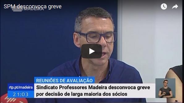 SPM desconvoca greve, noticiário RTP Madeira 13-06-2018