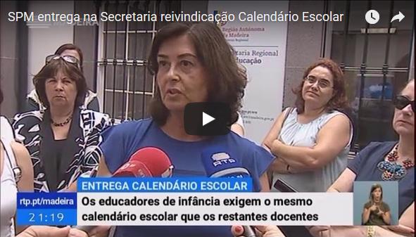SPM entrega na SRE reivindicação Calendário Escolar