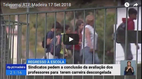 Telejornal RTP Madeira 17 set 2018