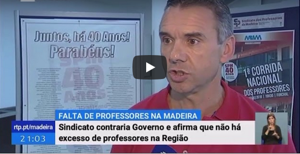 Telejornal RTP Madeira 31-08-2018