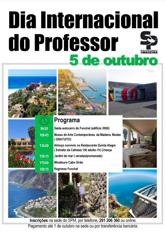 Dia Mundial do Professor – 5 de outubro