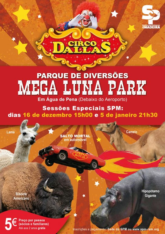 Circo Dallas – Sessões Especiais SPM