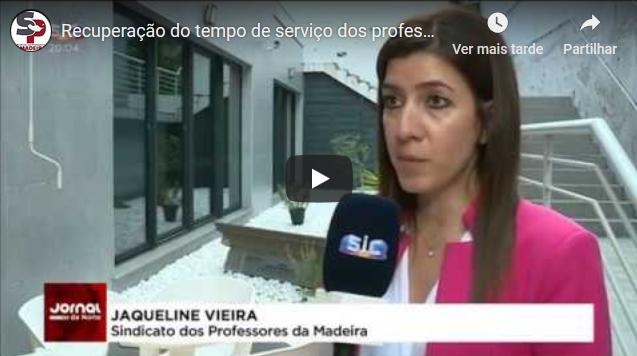 Recuperação do tempo de serviço dos professores da Madeira vai demorar 7 anos