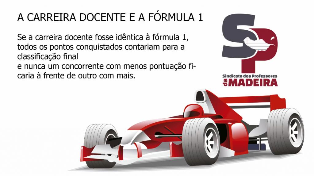 A Carreira Docente e a Fórmula 1