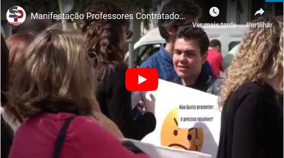 Manifestação Professores Contratados 15 Março