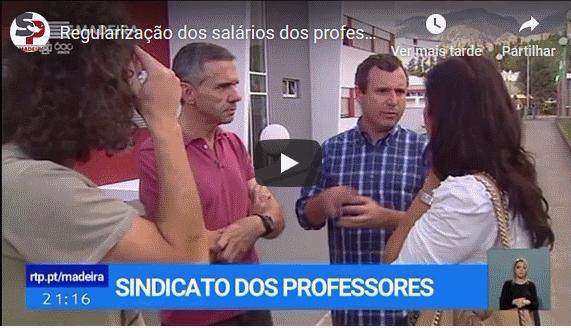 Regularização dos salários dos professores da Escola Profissional Francisco Fernandes
