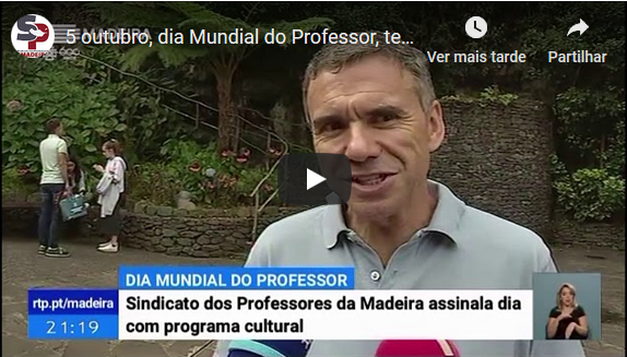 Dia Mundial do Professor, 5 out 2019