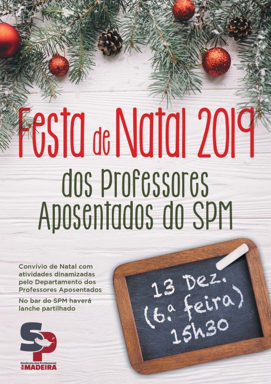 Festa de Natal – Professores Aposentados