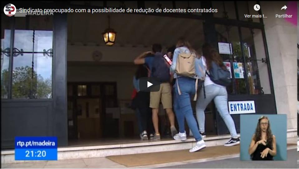 Sindicato preocupado com a possibilidade de redução de docentes contratados