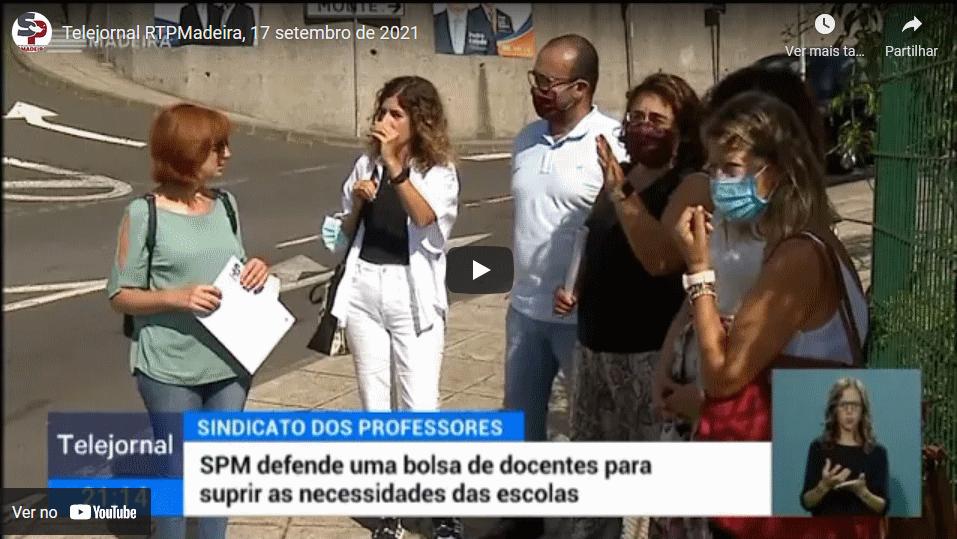 Telejornal RTPMadeira, 17 de setembro de 2021