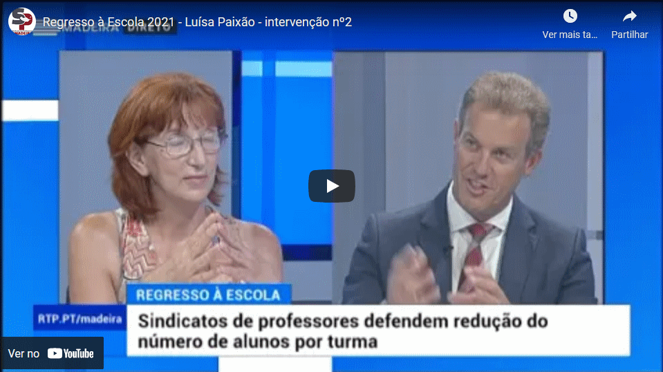 Regresso à Escola 2021 – Luísa Paixão – intervenção nº2